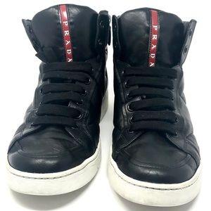 Prada Calzature Uomo Nappa Sport B Sneakers